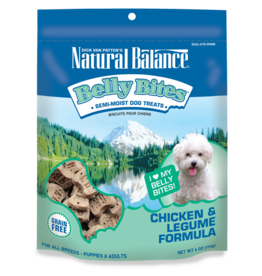 NATURAL BALANCE PET FOODS, INC NATURAL BALANCE BELLY BITES CHICKEN & LEGUME 6OZ