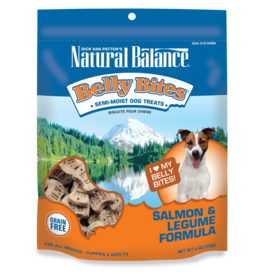 NATURAL BALANCE PET FOODS, INC NATURAL BALANCE BELLY BITES SALMON & LEGUME 6OZ
