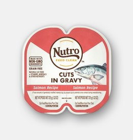 NUTRO PRODUCTS  INC. NUTRO PERFECT PORTIONS CUTS IN GRAVY SALMON 2.65OZ