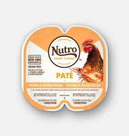 NUTRO PRODUCTS  INC. NUTRO PERFECT PORTIONS PATE CHICKEN & SHRIMP 2.65OZ