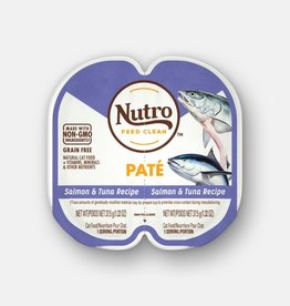 NUTRO PRODUCTS  INC. NUTRO PERFECT PORTIONS PATE SALMON & TUNA 2.65OZ CASE OF 24