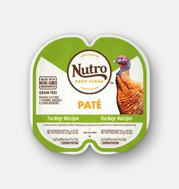 NUTRO PRODUCTS  INC. NUTRO PERFECT PORTIONS PATE TURKEY 2.65OZ CASE OF 24