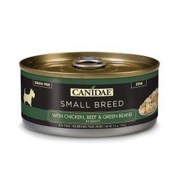 CANIDAE PET FOODS CANIDAE CAN DOG SMALL BREED CHICKEN, BEEF & GREEN BEANS IN GRAVY 5.5OZ CASE OF 24