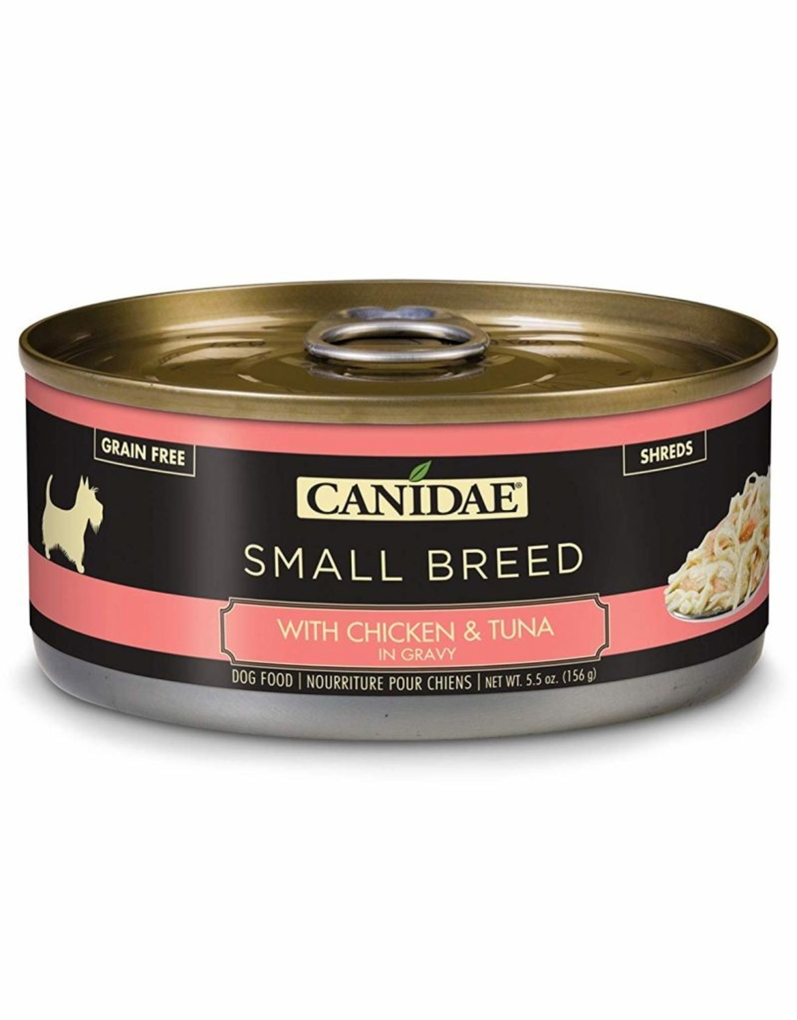 CANIDAE PET FOODS CANIDAE CAN DOG SMALL BREED CHICKEN, TUNA IN GRAVY 5.5OZ