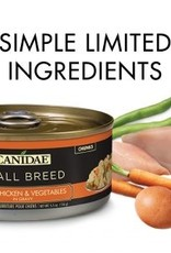 CANIDAE PET FOODS CANIDAE CAN DOG SMALL BREED CHICKEN, VEGETABLES IN GRAVY 5.5OZ CASE OF 24
