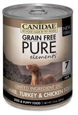 CANIDAE PET FOODS CANIDAE DOG CAN PURE ELEMENTS LAMB TURKEY CHICKEN 13 OZ