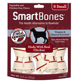 SMARTBONES CHICKEN SMALL/6 PACK