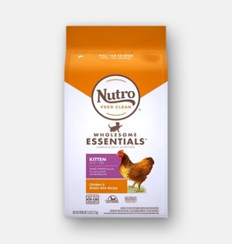 NUTRO PRODUCTS  INC. NUTRO WHOLESOME ESSENTIALS KITTEN CHICKEN & RICE 3LBS