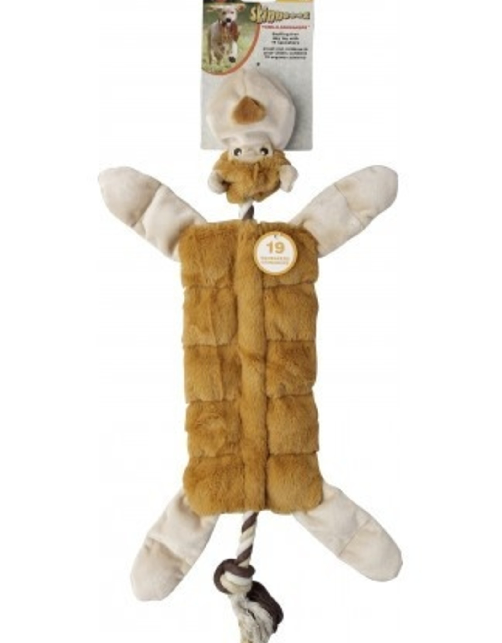 ETHICAL PRODUCTS, INC. SKINNEEEZ TON-O-SQUEAKER JUNGLE ANIMAL