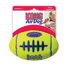 KONG COMPANY KONG AIR DOG FOOTBALL LG W/ SQUEAKER
