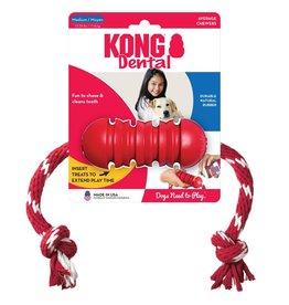 KONG COMPANY KONG DENTAL KONG W/ROPE MED