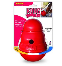 KONG COMPANY KONG DOG TOY WOBBLER SM