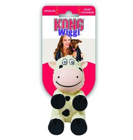 KONG COMPANY KONG DOG WIGGI COW LARGE