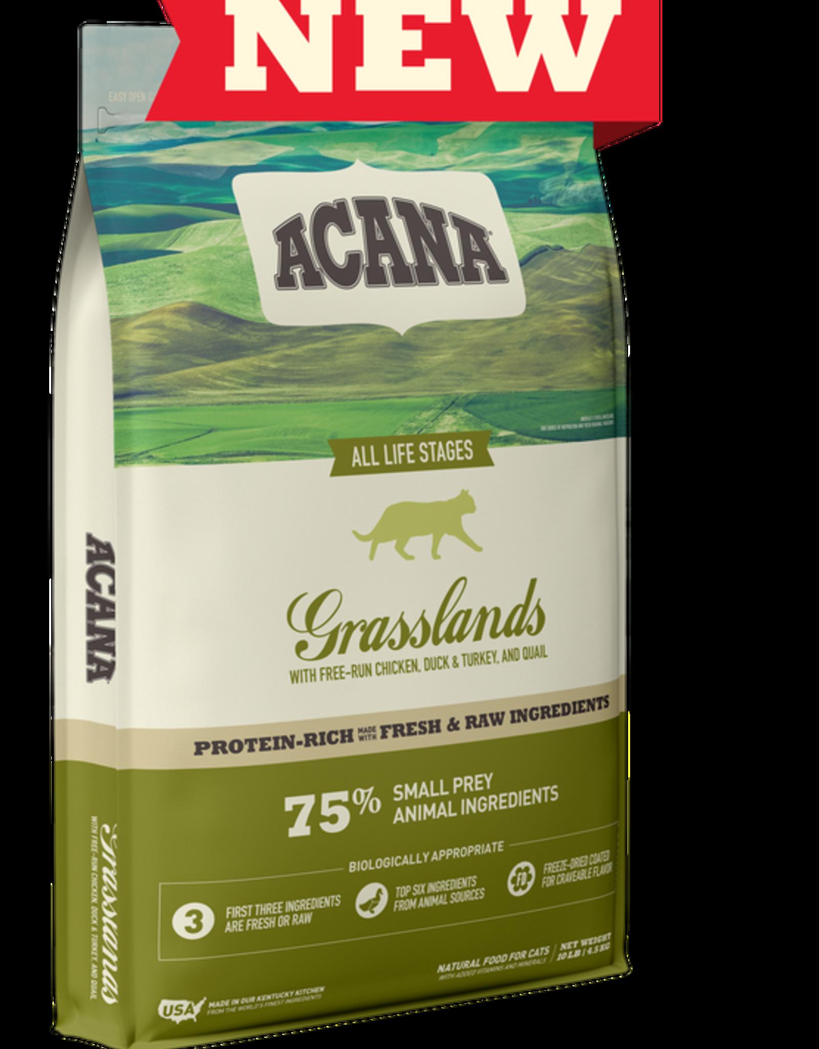 CHAMPION PET FOOD ACANA CAT GRASSLANDS 10LBS