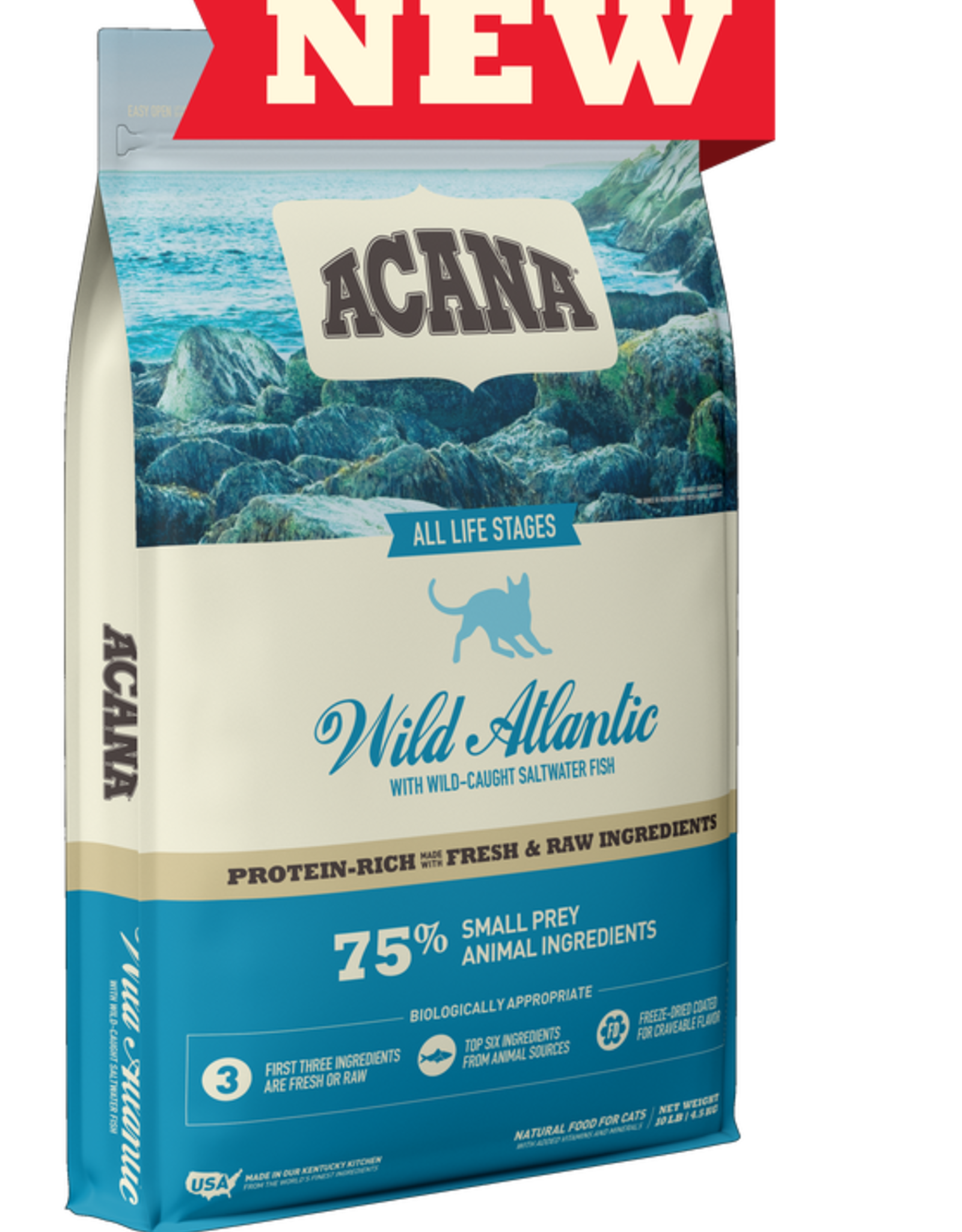 CHAMPION PET FOOD ACANA CAT WILD ATLANTIC 4LBS