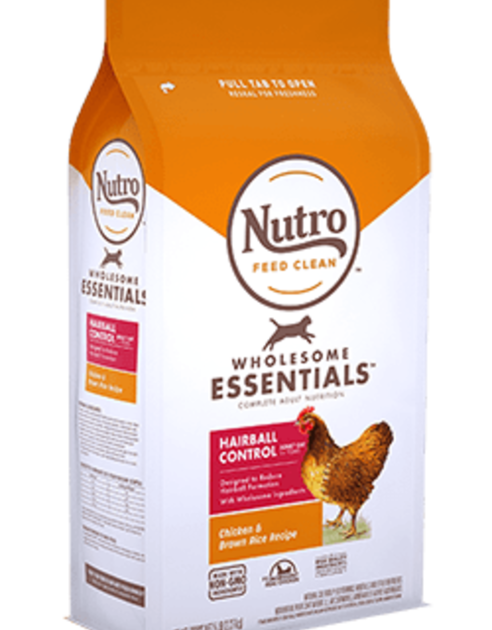 MARS PET CARE NUTRO WHOLESOME ESSENTIALS ADULT CAT HAIRBALL CHICKEN 5LBS