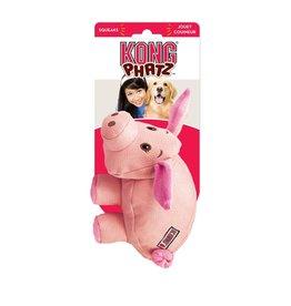 KONG COMPANY KONG PHATZ PIG PINK MEDIUM
