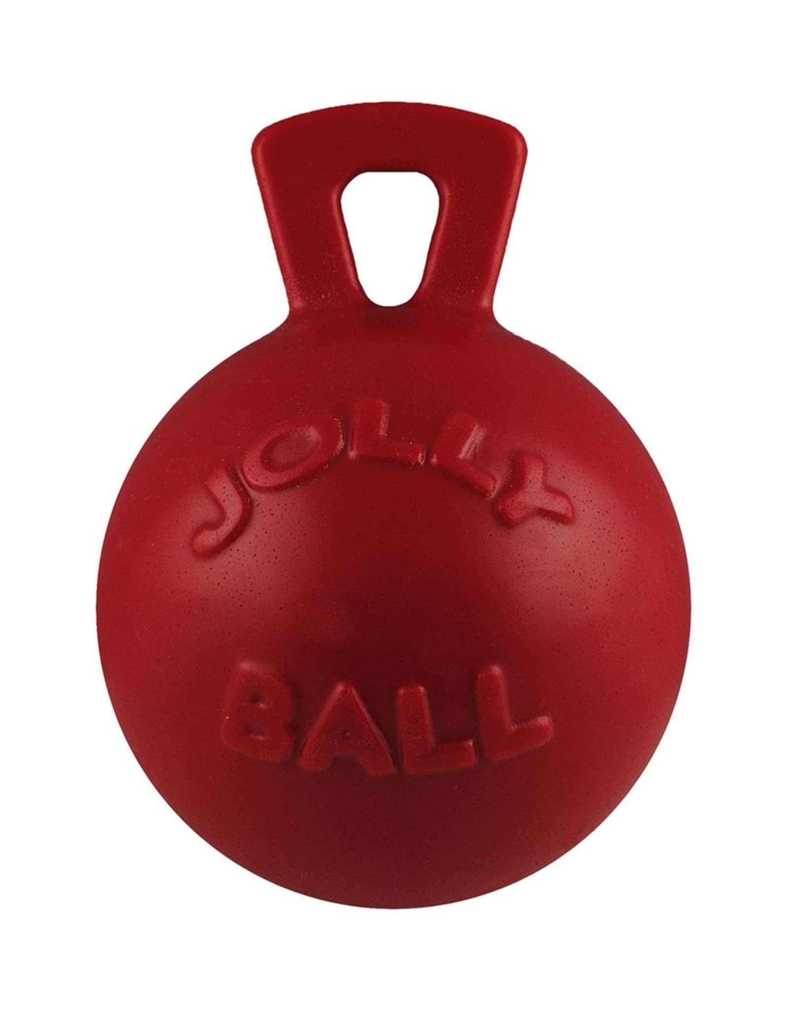 JOLLY PETS BALL JOLLY HORSE RED 10IN
