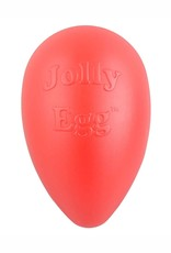 JOLLY PETS DOG TOY JOLLY EGG 12IN RED