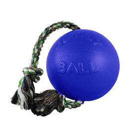 "JOLLY PETS JOLLY BALL ROMP-N-ROLL 4.5"" BLUE"