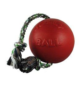 "JOLLY PETS JOLLY BALL ROMP-N-ROLL 6"" RED"