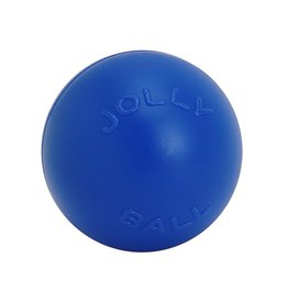 "JOLLY PETS JOLLY BALL PUSH-N-PLAY 10"" BLUE"