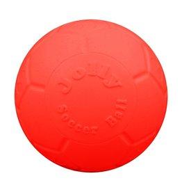 "JOLLY PETS JOLLY PET SOCCER BALL 8"" ORANGE"