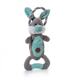 CHARMING PET PRODUCTS CHARMING PET SCRUNCH BUNCH BUNNY DOG TOY