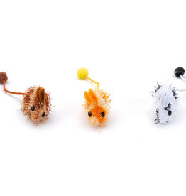 COASTAL PET PRODUCTS INC TURBO SPOTTED MICE 6.75""
