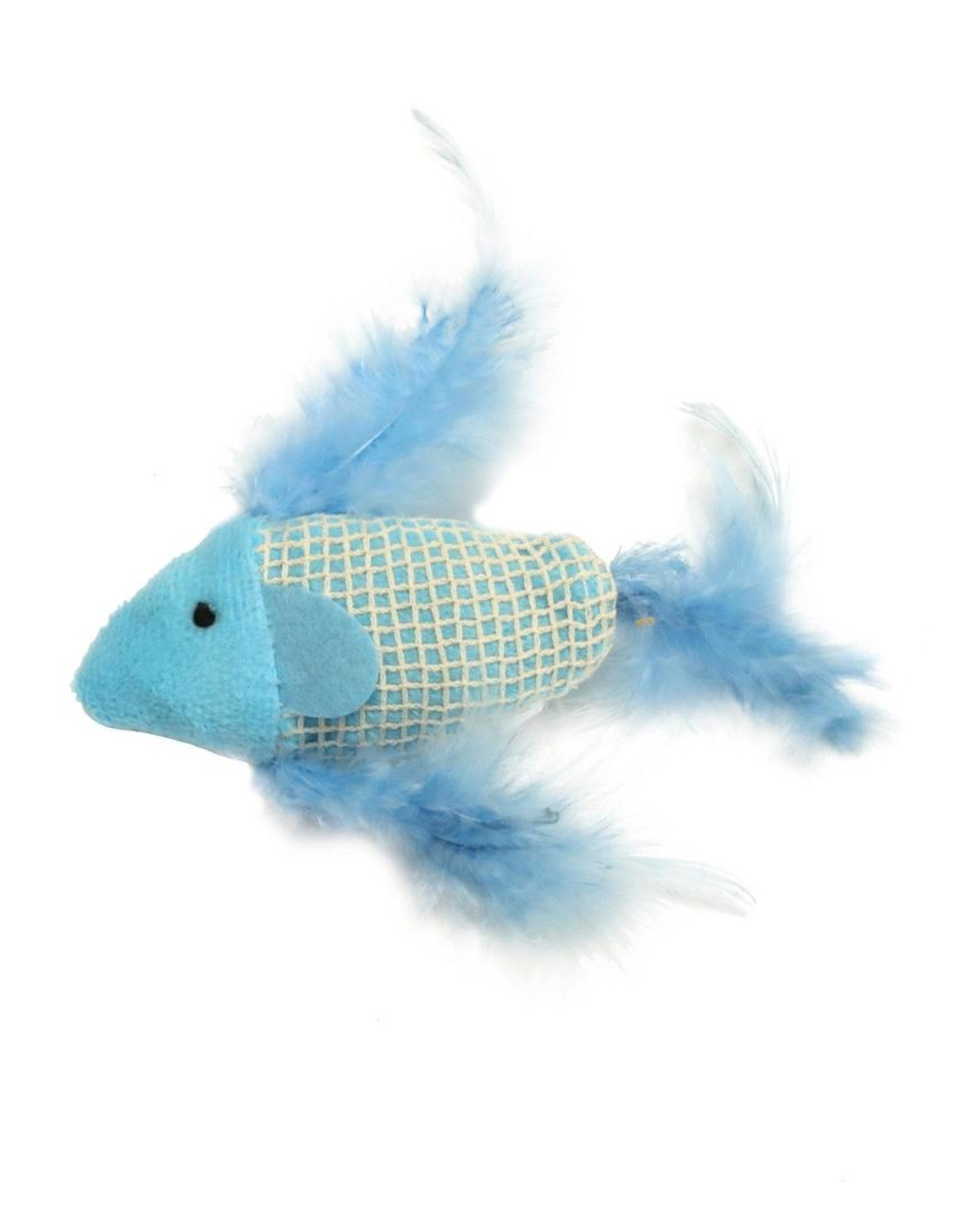 COASTAL PET PRODUCTS INC CAT TOY TURBO FEATHER FISH