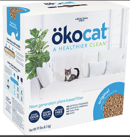 ABSORBENT PRODUCTS LTD. OKOCAT ORIGINAL NATURAL WOOD CLUMPING CAT LITTER 9.9#