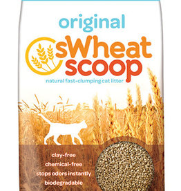 PET CARE SYSTEMS SWHEAT SCOOP FAST CLUMPING CAT LITTER 25LBS