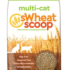 PET CARE SYSTEMS SWHEAT SCOOP MULTI-CAT LITTER 36LBS