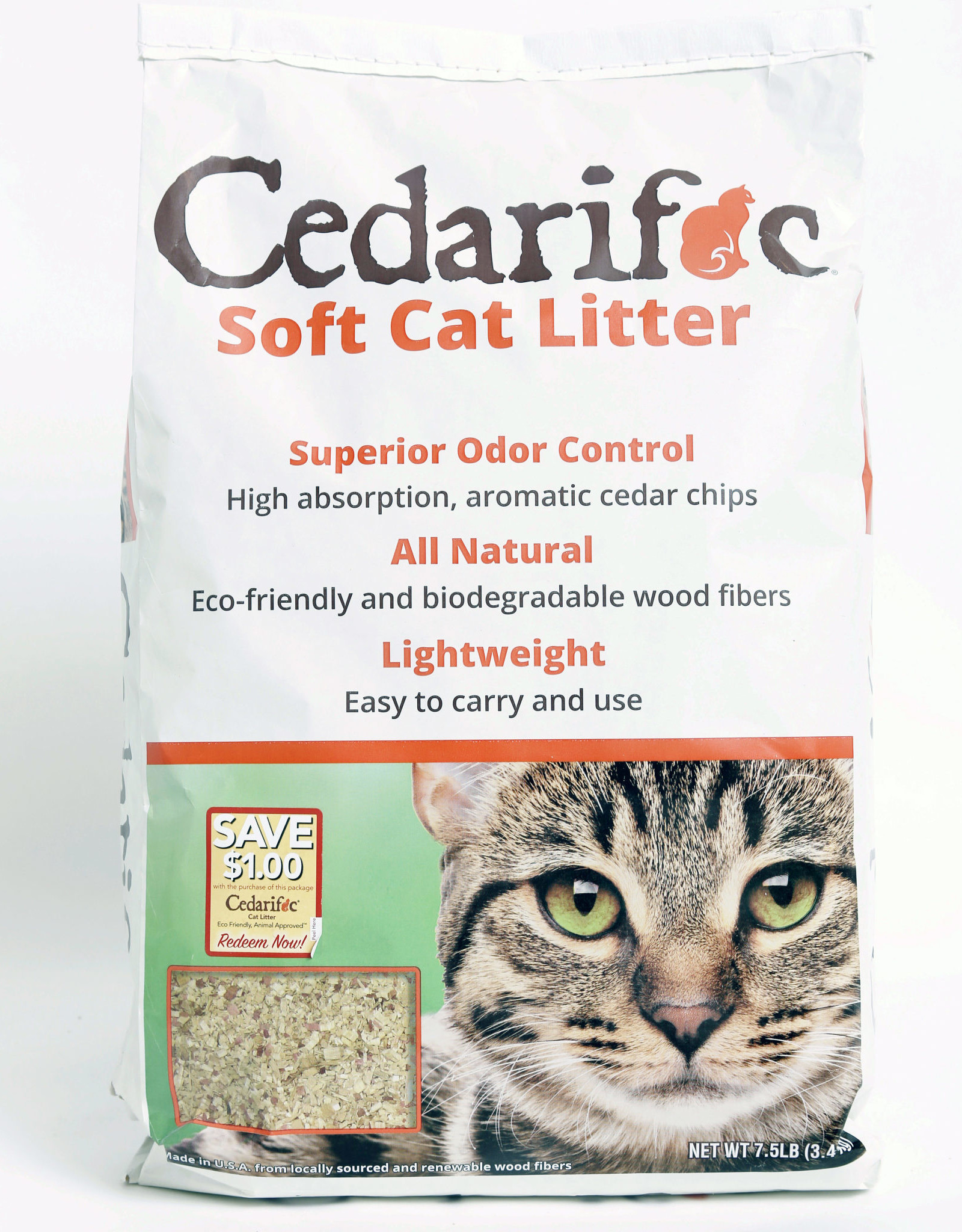 NORTHEASTERN PRODUCTS CO CEDARIFIC CAT LITTER 7.5#
