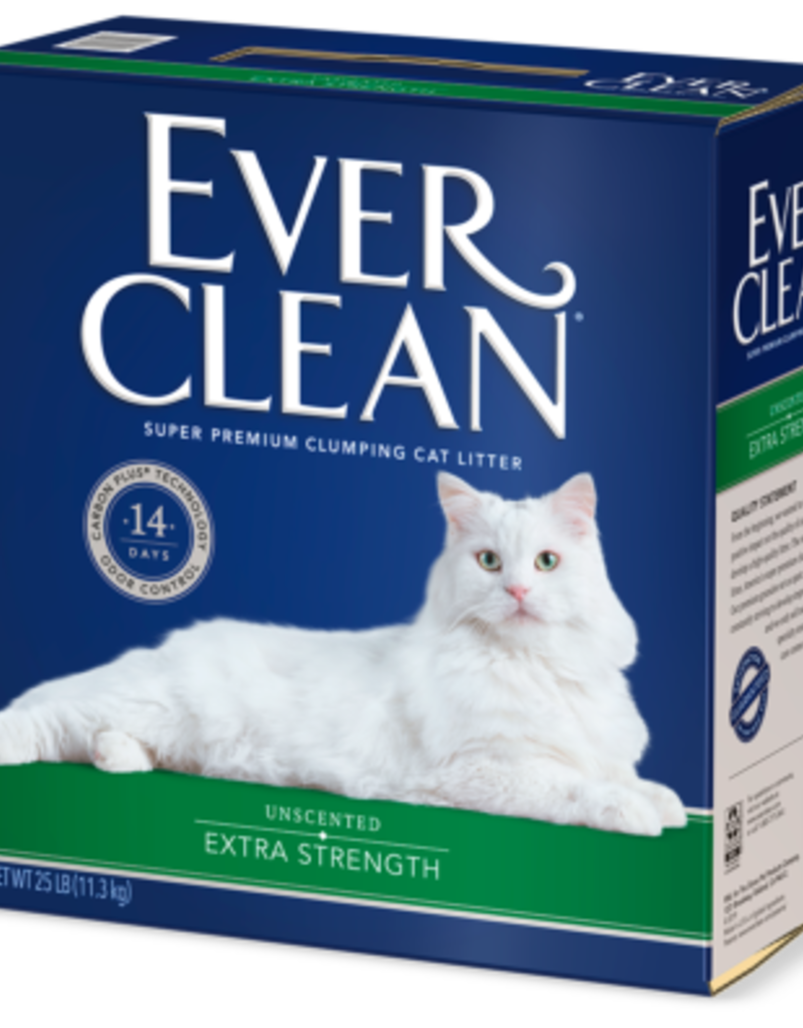 CLOROX PETCARE PRODUCTS EVERCLEAN EXTRA STRENGTH UNSCENTED CAT LITTER 25#