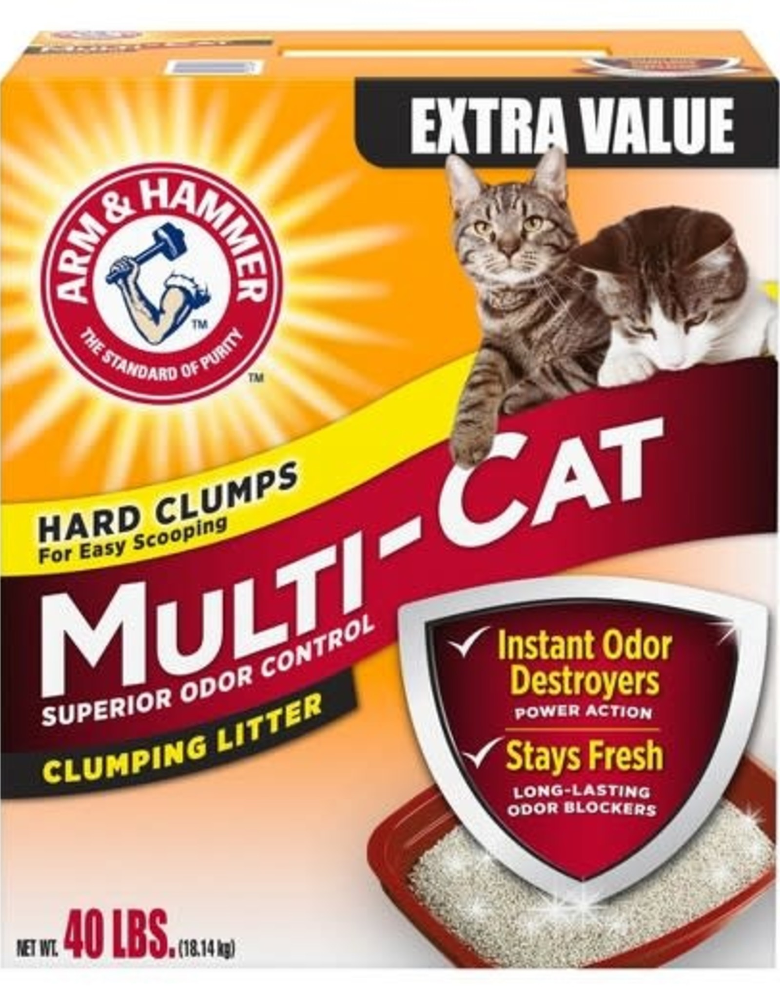 ARM & HAMMER ARM & HAMMER MULTI-CAT LITTER 26.3#