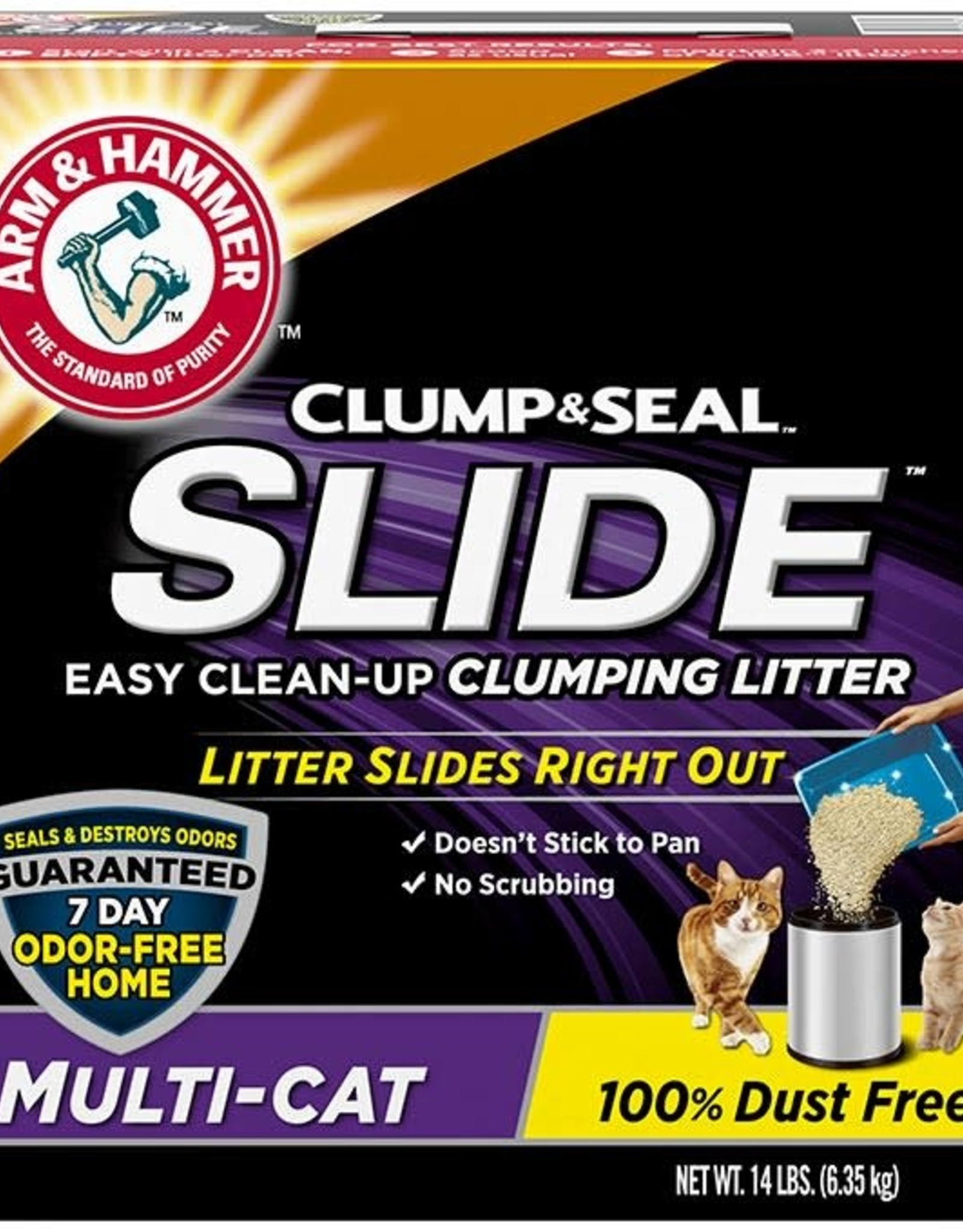 ARM & HAMMER ARM & HAMMER SLIDE MULTI CAT LITTER 28#