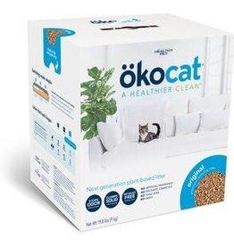HEALTHY PET (OKOCAT) OKOCAT CLUMPING WOOD CAT LITTER 19.8#