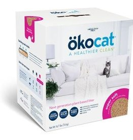 HEALTHY PET (OKOCAT) OKOCAT SOFT STEP CLUMPING WOOD LITTER 16.7#