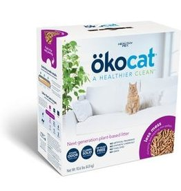 ABSORBENT PRODUCTS LTD. OKOCAT LONG HAIR CLUMPING WOOD CAT LITTER 10.6#