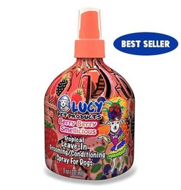 LUCY PET PRODUCTS LUCY PET BERRY BERRY TROPICAL FRESH LEAVE IN CONDITIONER 8OZ