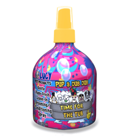 LUCY PET PRODUCTS LUCY PET PUP A DUB DUB TIME FOR TUB LEAVE IN CONDITIONER 8OZ