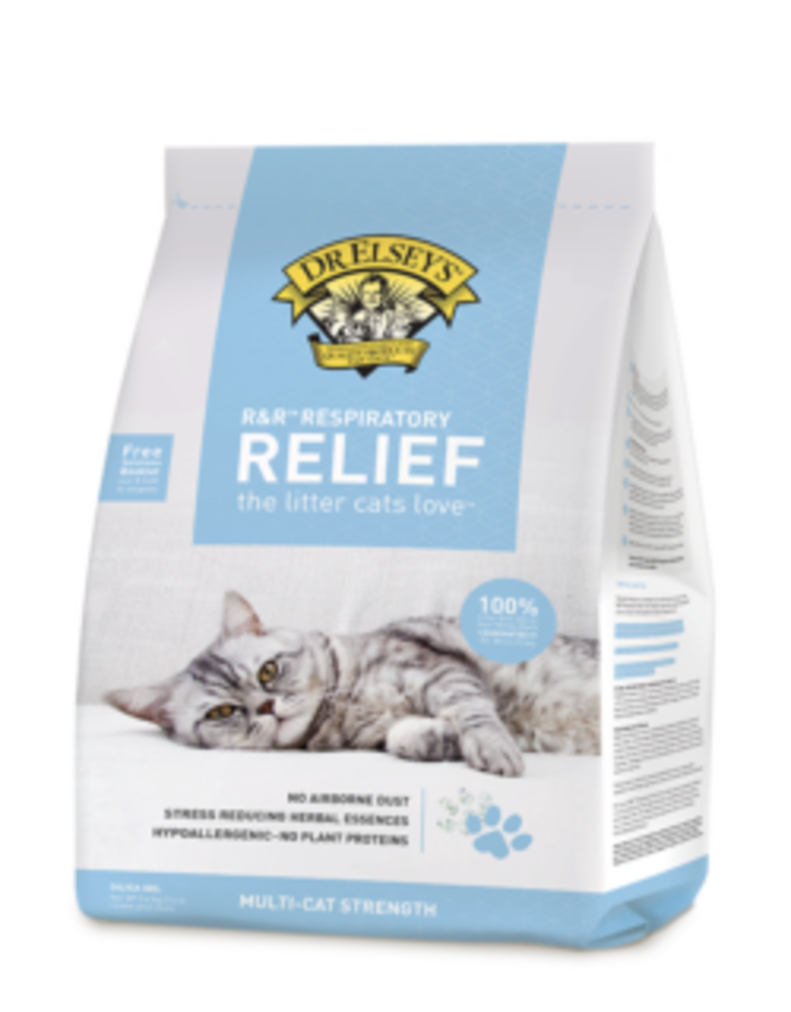 DR ELSEY'S DR ELSEY'S R&R RESPIRATORY RELIEF SILICA CAT LITTER 7.5#