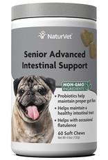 NATURVET NATURVET DOG SOFT CHEWS SENIOR INTESTINAL 60CT