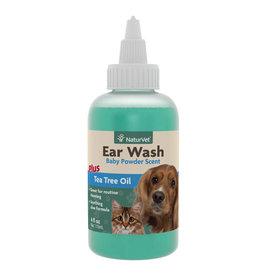 NATURVET NATURVET EAR WASH W/TEA TREE OIL 4OZ