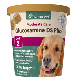 NATURVET NATURVET GLUCOSAMINE DS PLUS LEVEL 2 70CT