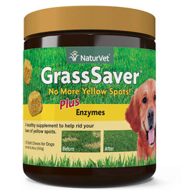 NATURVET NATURVET GRASS SAVER SOFT CHEW 120CT
