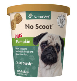 NATURVET NATURVET NO SCOOT PLUS PUMPKIN 60CT