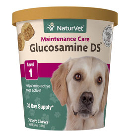 NATURVET NATURVET GLUCOSAMINE DS LEVEL 1 70CT