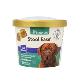 NATURVET NATURVET STOOL EASE 40CT